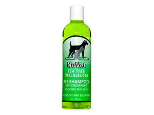 NuVet Tea Tree Medicated Shampoo