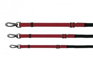 Trixie Experience Leash with Shock Absorber wine red