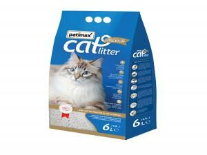 Patimax Baby Powder Fragrance Long Lasting Premium Cat Litter