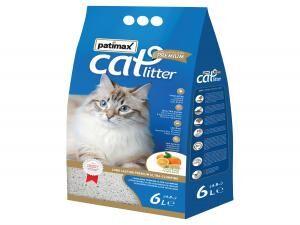 Patimax Orange Fragrance Long Lasting Premium Cat Litter