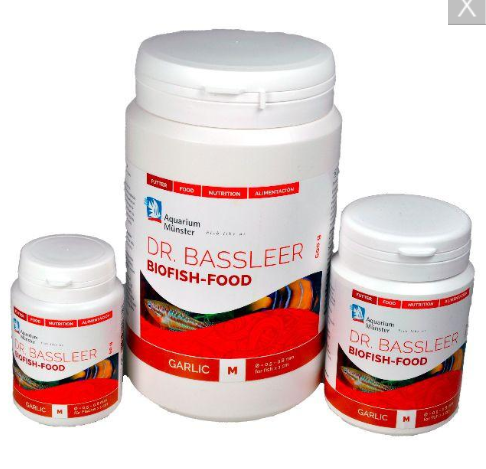 DR.BASSLEER BIO-FISH FOOD GARLIC