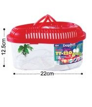 Dolphin Turtle Tank with Cover