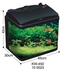 Dolphin Glass Tank Without Cooling  Fan