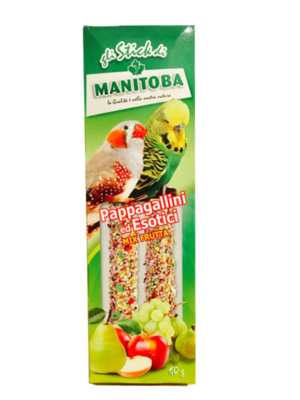 PAPPAGALLINI ED ESOTICI MIX FRUTTA  60G - Bird Food product