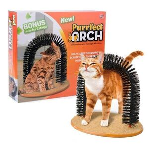 arch shape  cat scratching toy