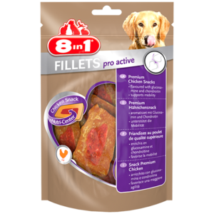 8in1   Fillets Pro Active 80gm