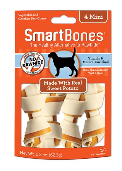 Smart Bones Sweet Potato mini 8pcx 128gm