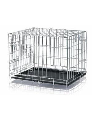 Trixie Wire Crate, Galvanized