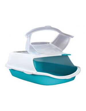 Trixie Vico Easy Clean Litter Tray, with Dome