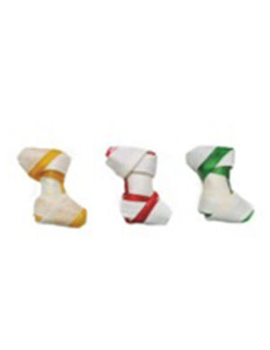 Double color knotted bone 130gm ( 1 piece )