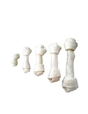 White Knotted bone 130gm ( 1 piece )