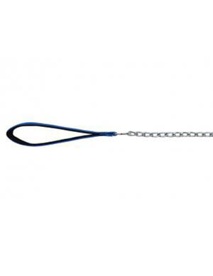 TRIXIE Chain Leash, Chromed, with Nylon Hand Loop -  Dogs product