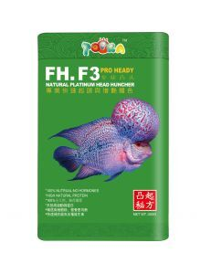 Siso Pro Heady Food for Natural Platinum Head Hunchers - Fish Food & Treats product
