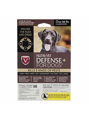 Nutri-vet defense for dogs over 66 lbs