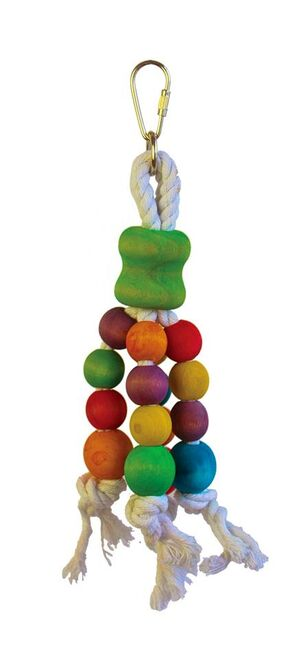 3 rope balls Parrot toy