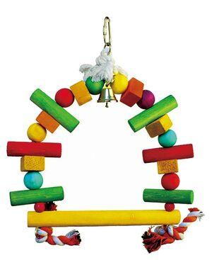 Rainbow parrot swing