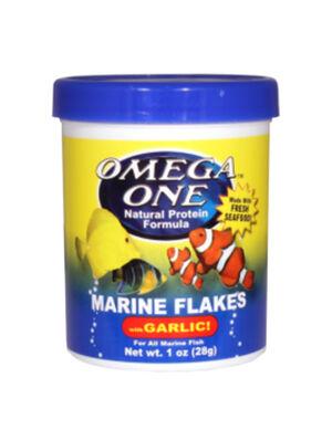 OMEGA ONE MARINE FLAKES WITH GARLIC
