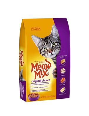 Meow mix Original Choice Dry Cat Food 1.43 kg