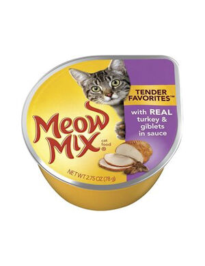 Meow Mix Real Turkey & Giblets in Sauce 78g