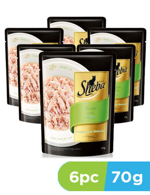 Sheba Tuna 6 x 70gm -  Cats product