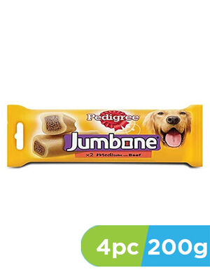 Pedigree Jumbone Medium 4 x 200gm