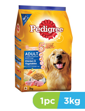 Pedigree Chicken and Vegetable 3kg
