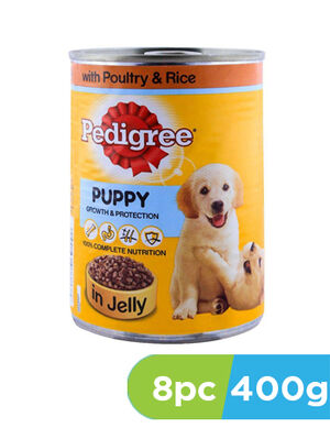Pedigree Puppy with poultry and rice 8pc x 400g