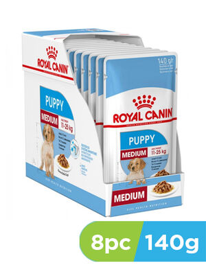 Royal Canin Puppy medium 8 x 140g