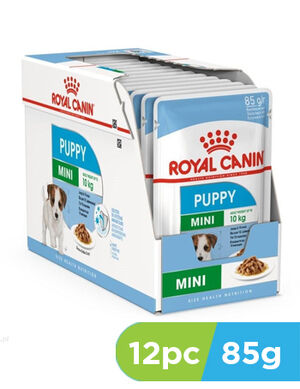 12pc x 85g Royal Canin Mini Puppy