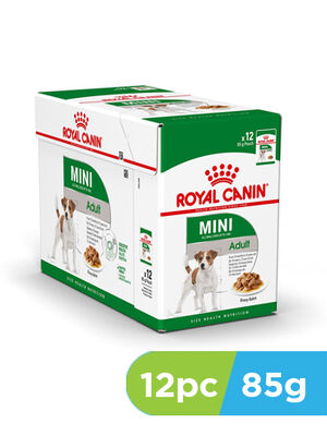 Royal Canin Mini Adult Wet Food 12pc x 85gm
