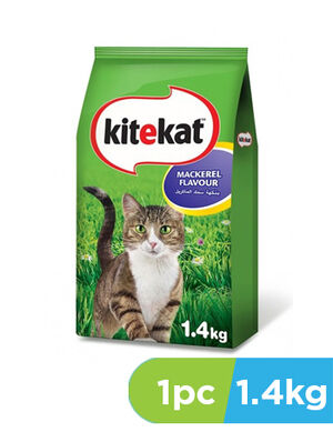Kitekat Mackerel Flavor Cat Food 1.4 kg - Cats Food product