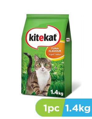 KiteKat Tuna Flavour Cat Food 1.4kg