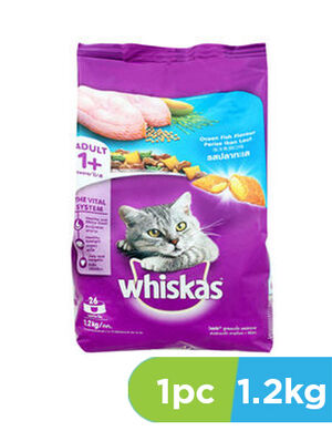 Whiskas with Ocean Fish 1.2kg