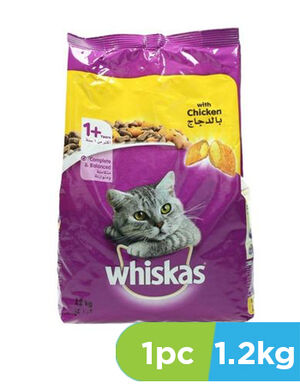 Whiskas with Chicken 1.2kg
