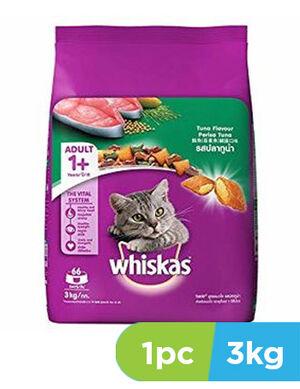 Whiskas Tuna Flavour Perisa  Tuna 3kg