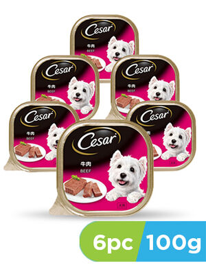 Cesar beef 6 x 100g -  Dogs product