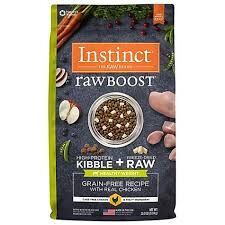 Instinct  Raw Boost Grain-Free Recipe with Real Chicken - Healthy Weight 4lb