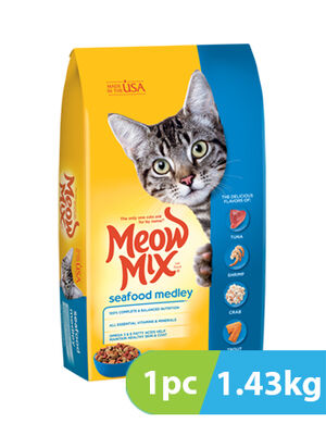 Meow Mix Seafood Medley 1.43 kg
