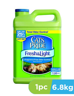 Cat's Pride Fresh & Light Fragrance Free Jug  6.80kg