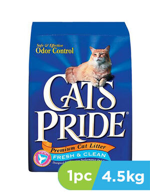 Cat' Pride Premium Fresh & Clean Bag 4.53Kg