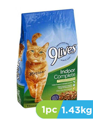 9Lives Indoor Complete 1.43 kg