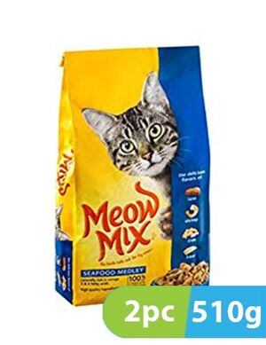 Meow Mix Seafood Medley 2pc x 510gm