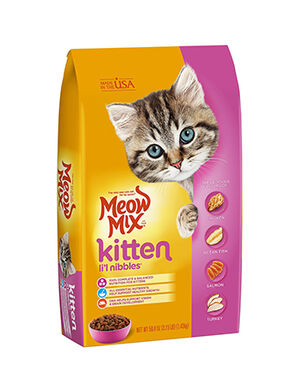 Meow Mix Kitten Li'l nibbles 1.43 kg