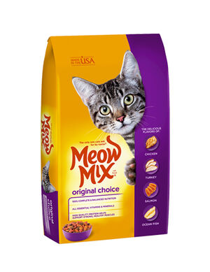 Meow Mix Original Choice 2.86 kg -  Cats product