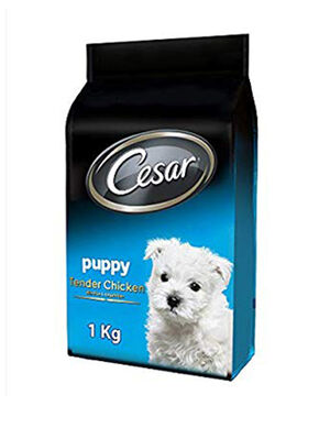 Cesar Puppy Tender Chicken with rice & vegetables 1 kg -  Dogs product
