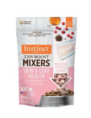 Instinct Raw Boost Mixers -Skin & Coat Health (New)  2pc x 0.75oz (21 gm)