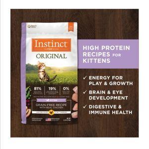 Instinct Original Grain-Free Recipe with Real Rabbit 11lb (4.9kg) -  Cats product