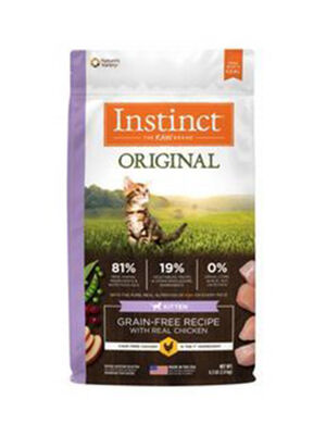 Instinct Original Grain-Free Recipe with Real Rabbit  4lb (1.8kg)