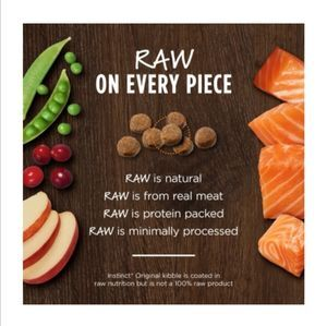 Instinct Original Grain-Free Recipe with Real Salmon  4.5lb (cat) 2kg -  Cats product