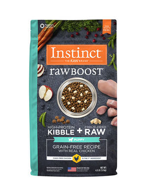 Instinct Raw Boost Grain-Free Recipe with Real Chicken - Puppy 10 lb